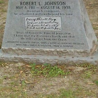 Photo taken at Robert Johnson's Grave by Nancy M. on 5/2/2012