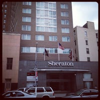 Photo taken at Sheraton Tribeca by Jamison N. on 7/29/2012