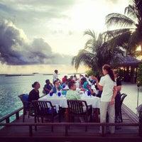 Photo taken at Sheraton Maldives Full Moon Resort & Spa by Nattu A. on 8/2/2012