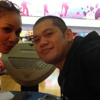 Photo taken at Spincity Bowling Alley by Debhie F. on 8/9/2012