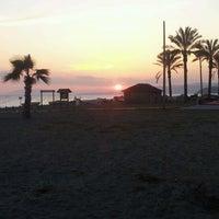 Photo taken at Paseo Marítimo de El Morche by jesse r. on 3/17/2012