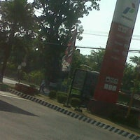 Photo taken at SPBU 44.561.12 by tyonk a. on 7/16/2012