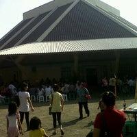 Photo taken at Gereja Katolik Santa Monika by Fajar Sakti A. on 5/20/2012
