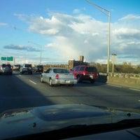 Photo taken at Bruckner Expressway by George P. on 4/12/2012