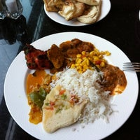 Photo taken at Bombay Bistro by Jacob E. on 2/16/2012