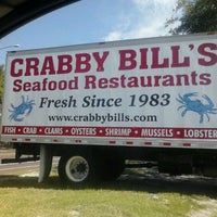 Photo taken at Crabby Bill's Seafood by Raquel C. on 8/3/2012