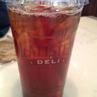 Photo taken at McAlister's Deli by Cindy G. on 2/25/2012