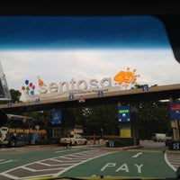 Photo taken at Sentosa Entrance Gantry by Khalphan A. on 5/15/2012