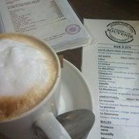 Photo taken at Café Souvenir by Marie C. on 3/2/2012