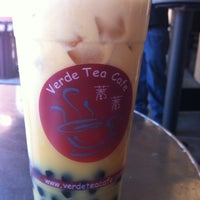 Photo taken at Verde Tea Cafe by M R. on 5/11/2012