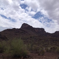 Photo taken at Picacho Peak by Marcie P. on 7/9/2012