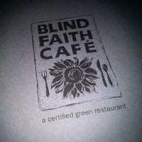 Photo taken at Blind Faith Cafe by In Vitis Veritas on 2/8/2012