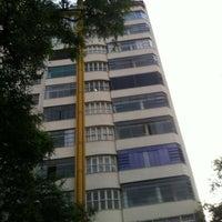 Photo taken at Rua Santa Catarina by Jorge T. on 4/23/2012