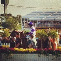 Photo taken at Pimlico Race Course by Mike M. on 5/20/2012