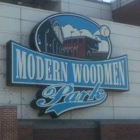 Photo taken at Modern Woodmen Park by David M. on 7/7/2012
