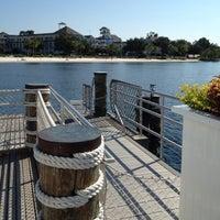 Photo taken at Friendship Boat Dock - Yacht & Beach Club Resorts by Scott F. on 9/7/2012