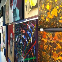 Photo taken at Goodfellas Gallery by Andy L. on 3/11/2012