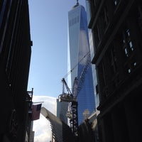 Photo taken at World Trade Center Construction Security by H H. on 9/20/2014