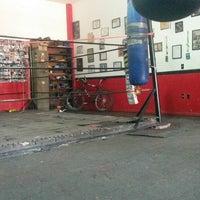Photo taken at Ojo De Tigre Box y Muay Thai by Mauricio M. on 6/5/2014