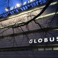 Photo taken at GLOBUS by Lukas on 3/12/2013