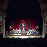 Photo taken at Teatre Principal by Sergio N. on 9/11/2015