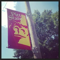 Photo taken at Pittsburg State University by Seth C. on 8/17/2013