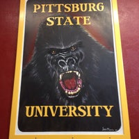 Photo taken at Pittsburg State University by Seth C. on 10/3/2015