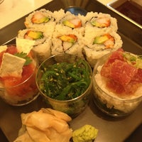 Photo taken at Sushi of Gari at The Plaza Hotel Food Hall by Nami C. on 6/27/2013