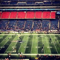 Photo taken at Gillette Stadium by Kevin V. on 1/13/2013