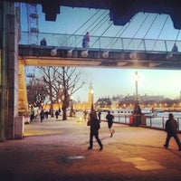 Photo taken at South Bank by Denis N. on 4/18/2013