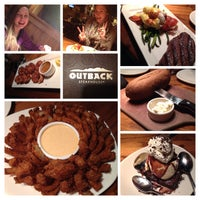 Photo taken at Outback Steakhouse by Elisabeth S. on 3/10/2014