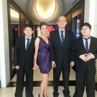 Photo taken at The Bellevue Manila by tommi m. on 1/18/2013