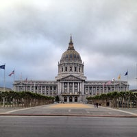 Photo taken at San Francisco City Hall by Steven G. on 5/9/2013