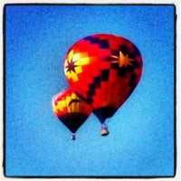 Photo taken at Lincoln Art & Balloon Festival - at Logan County Airport by Charles C. on 8/24/2013