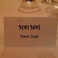 Photo taken at Restaurant Sent Sovi by Dave C. on 9/26/2014