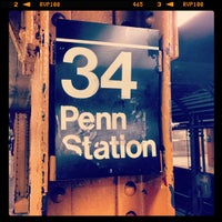 Photo taken at MTA Subway - 34th St/Penn Station (A/C/E) by Daniel C. on 2/22/2013