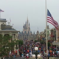 Photo taken at Walt Disney World Railroad - Main Street Station by TeamGREASE on 4/20/2013