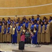 Photo taken at Igreja Adventista do Sétimo Dia - Vila Maria by Washington V. on 5/31/2014