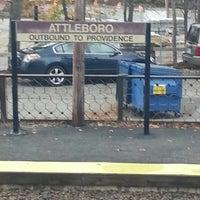 Photo taken at MBTA Attleboro Station by Damien S. on 10/31/2012