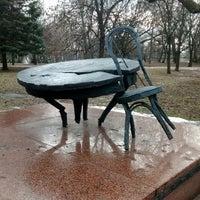 Photo taken at Мемориальный сквер by Artyom P. on 1/15/2015