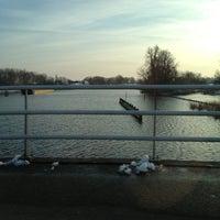 Photo taken at Vechtbrug by Johanna V. on 2/10/2013