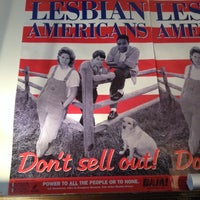 Photo taken at Lesbian Herstory Archives by Peter S. on 10/26/2013