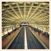 Photo taken at Gallery Place - Chinatown Metro Station by Brian S. on 12/16/2012