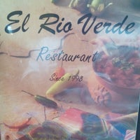 Photo taken at El Rio Verde by Christle S. on 8/19/2014