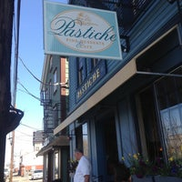 Photo taken at Pastiche Fine Desserts & Café by Tuesday R. on 4/28/2013