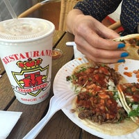 Photo taken at Javier's Tacos Mexico by jaz on 4/20/2015