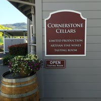 Photo taken at Cornerstone Cellars by Ishani S. on 4/30/2016