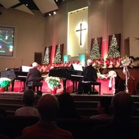 Photo taken at First Baptist Church Of New Port Richey by Eatery A. on 12/14/2013