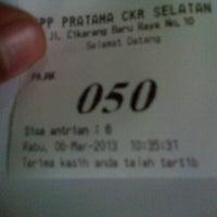 Photo taken at Kantor Pelayanan Pajak Pratama Cikarang Selatan by Yosan S. on 3/6/2013