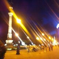Photo taken at Obelisco by Carmen . on 10/24/2012